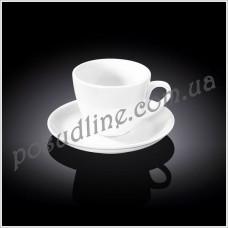 Чашка чайная с блюдцем Wilmax 190 мл WL-993175