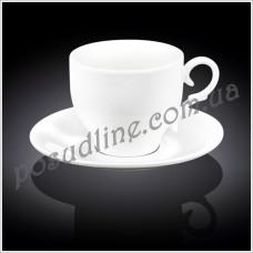 Чашка чайная с блюдцем Wilmax 330 мл WL-993105